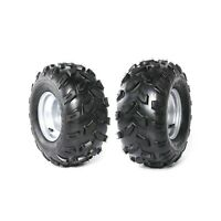 Pair 18x9.50-8 Tyre 8'' Tyre Tire Rim For ATV Quad Ride on Mower Buggy 18x9.5-8