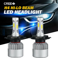 200W 20000LM H4 9003 CREE LED Headlight Kit High Low Beam Head Fog Light Bulbs