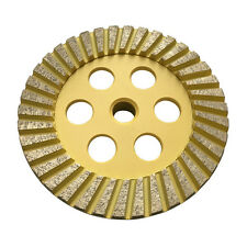 "5"" Diamond Surface Grinding Wheels for Stone Granite Concrete #60/80 Medium Grit"