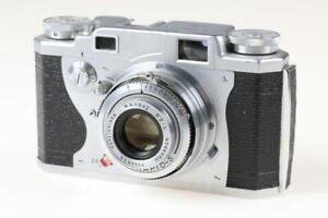 KONICA II mit Hexanon 50mm f/2,8 Sucherkamera - SNr: 46303