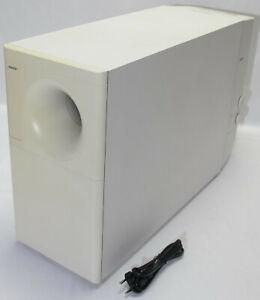 Bose Powered Acoustimass 25 Series II 2 Weiß Speaker System Aktiv-Subwoofer Bass