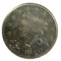 1820 Coronet Head Large Cent Penny