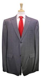 Kobe Bryant Custom Made Gucci Gray 2-Btn Wool Suit Celebrity 48XL