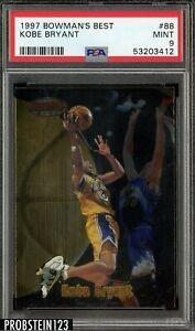 1997 Bowman's Best Kobe Bryant #88 PSA 9 Mint
