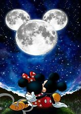 Disney Mickey and Minnie Mouse A4 art print, photo, picture, gift, nursery