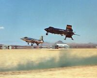 X-15 NO. 3 AIRCRAFT & F-104 CHASE PLANE 8x10 SILVER HALIDE PHOTO PRINT