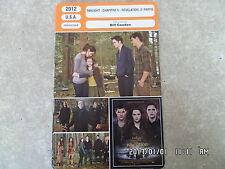 CARTE FICHE CINEMA 2012 TWILIGHT CHAP 5 REVELATION 2e PARTIE Kristen Stewart