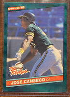 1986 Donruss The Rookies Jose Canseco #22 Baseball Card Rookie RC