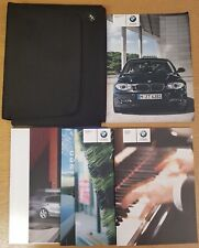 GENUINE BMW 1 SERIES E81 E87 HANDBOOK OWNERS MANUAL WALLET 2007-2011 PACK E-63