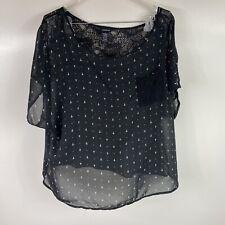 Torrid Black Cross Blouse Plus Size 18/20