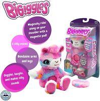 BIGiggles Take-Along, Chat-Back Plush, Talking Stuffed Llama (Damaged Packaging)