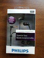 Philips SHE8000 in-ear headphones sports music mobile phone subwoofer headphones
