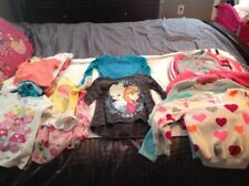 LARGE LOT OF 18 PIECES GIRL'S 4/5 TOPS/SWEATER/JACKET