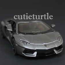 Kinsmart Lamborghini Aventador LP700-4 1:38 Diecast Toy Car Grey