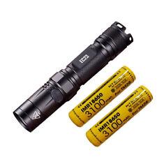 Combo: Nitecore EC23 CREE XHP35 HD LED Flashlight w/2x 3100mAh 10A Battery
