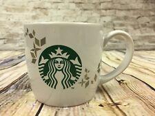 Starbucks 2013 Holiday Collection Coffee Mug Cup 14 oz Mermaid Logo Gold Pattern