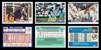 """Don Mattingly Rookie RC 3 Card Set ACEO """"Custom Novelty Art Card"""" Display Only"""