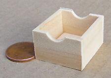 1:12 Scale Medium Size Wood Tray Box Crate Tumdee Dolls House Miniature SAM