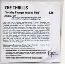 (AE914) The Thrills, Nothing Changes Around Here- DJ CD