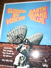 Guided By Voices 'Earthquake Glue' Poster