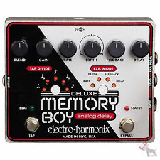 Electro Harmonix Deluxe Memory Boy Analog Tap Tempo Delay Guitar Effects Pedal