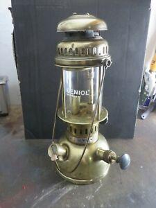 vintage geniol  150 cp messing pressure  lantern  from  germany