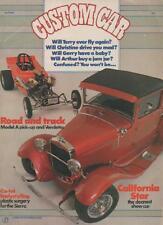 CUSTOM CAR MAGAZINE  APRIL 1984  ROAD AND TRACK   LS