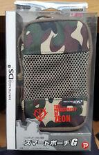 Gundam Zeon branded Nintendo DSi console case NEW & SEALED CAMO print zipped
