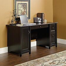 Sauder 408558 Edge Water Computer Desk Estate Black New