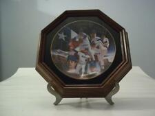 Nolan Ryan The No Hitter Man Collector Plate with Frame