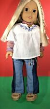 American Girl Doll Julie Albright with complete outfit (retired) Very Nice!