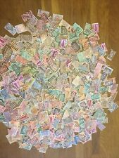 Belgium railway parcel stamps 500+ off paper used with some mint