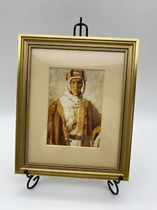 Lawerence Of Arabia Framed Picture Gold Tone Frame