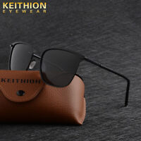 KEITHION Fashion Men Polarized Sunglasses Driving Sport Designer Square Eyewear