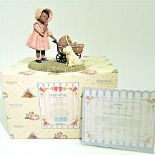 """Mint vtg Enesco Miss Martha's Tonya """"Hush, Puppy Dear"""" Box God's Children 443255"""