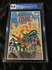 1984 Justice League of America Annual #2 CGC 9.8 1st Vibe, 1st Gypsy, 1st Steel!