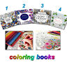 Drawing Youngs Coloring Book English  Children Graffiti Books Fantasy Adult