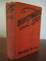 1st Edition Honeymoon's End Howard Rockey First Printing Fiction Novel Antique