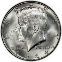 1964-P Kennedy half dollar BU