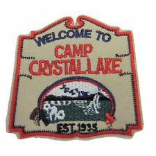 Friday the 13th Camp Crystal Lake Embroidered Patch