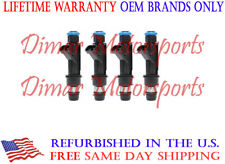 Set 5pc Delphi Fuel Injector 25364984 for 04-07 GMC Canyon Isuzu i-370 Hummer H3