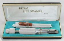 New ListingSenior Regal Brand-Pipe Reamer-Adjustable w/Drill In Case w/Pipe Cleaners