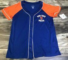 NEW YORK METS MLB Genuine Merchandise: Boys(Youth) Medium Baseball Jersey NWT