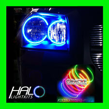 2008 DODGE MAGNUM COLORSHIFT LED LIGHT HEADLIGHT HALO KIT 4 Rings by ORACLE