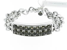 PIANEGONDA bracciale in argento e topazi fumè referenza BA010572 new