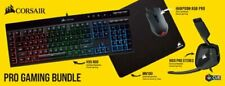 Corsair Pro (CH-9226515-NA) Wired Keyboard, Stereo Headset, Mouse and Mouse...