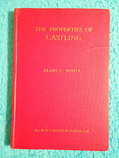 THE PROPERTIES OF CASTLING Alain C. WHITE CHESS Schach Christmas Series 1928