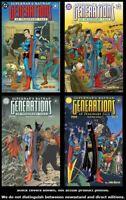 Superman & Batman: Generations 1 2 3 4 Complete Set Run Lot 1-4 VF/NM