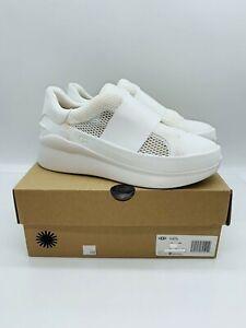 UGG Women's Libu Lite Sneakers Slip On Sneakers White- Pick Size