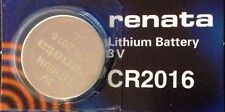 CR 2016 RENATA WATCH BATTERY ECR2016 CR2016 3V FREE SHIPPING Authorized Seller
